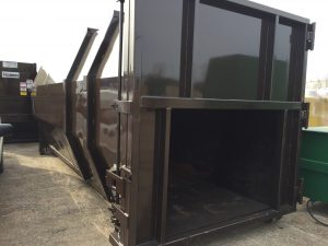 40 Yrd. capacity container – 2 available Container has cable and ampro hook up 40yrd container capacity Octagon style Good used container