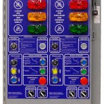 loading dock safety products Dual Position Integrated Control Panel
