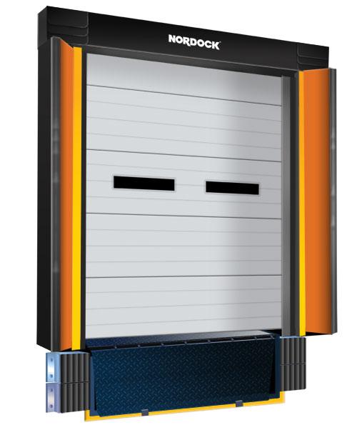 STC Trailer Door Gap Compression Seal