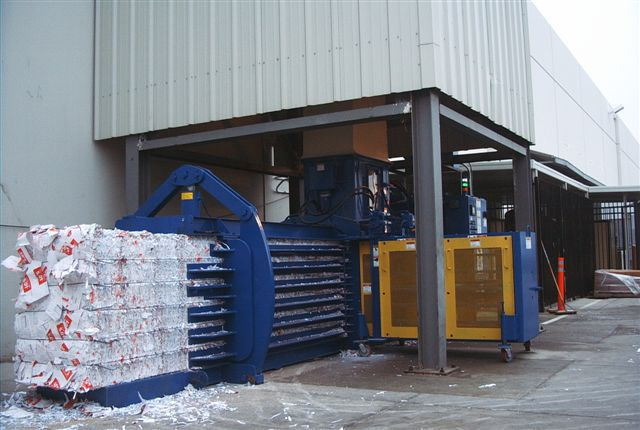 Horizontal Paper Baler michigan
